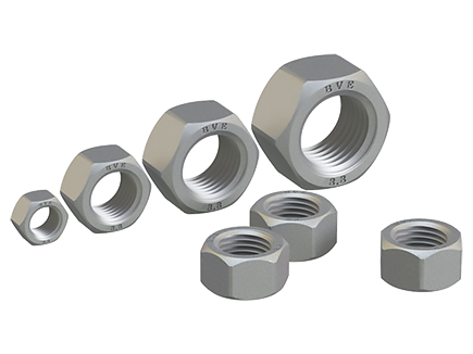 Hexagon nut DIN EN ISO 4032-2013 (DIN 934), ISO 4032:2012, ISO 8673:2012